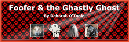 "Free view of ""Foofer & the Ghastly Ghost"" by Deborah O'Toole during the month of October 2016."